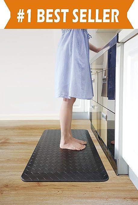 Amazing Elegant Comfort Anti Fatigue Standing Comfort Kitchen Mat   OVERSIZED    Non Slip Backing
