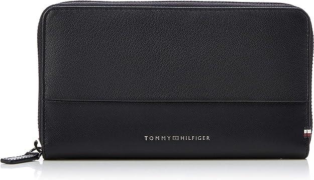 0.1x0.1x0.1 cm W x H L Tommy Hilfiger Textured Multi Za Wallet Black Noir Portefeuilles homme