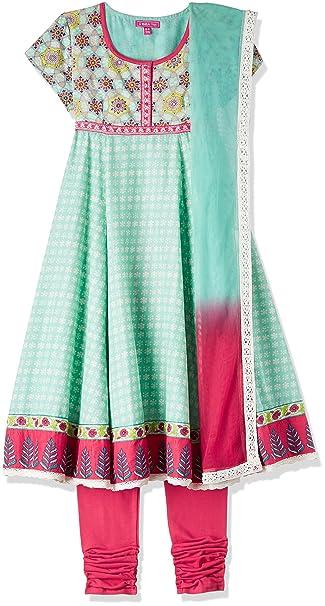 Biba Girls Salwar Suit Set Girls' Salwar Suit Sets at amazon
