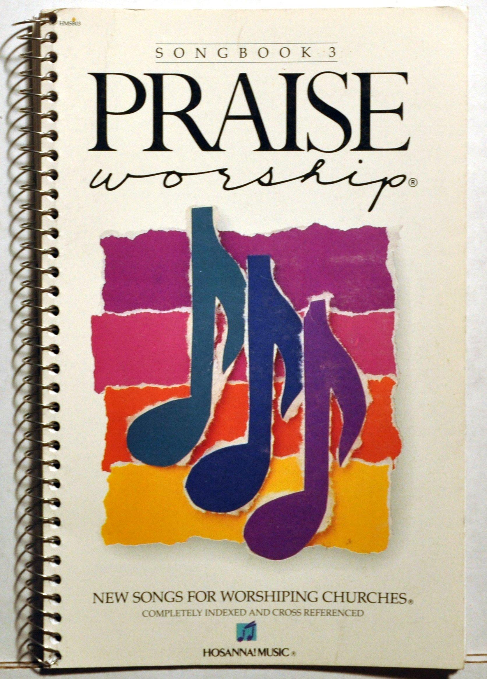 Hosanna Music Songbook 3 Praise Worship Don Moen Andrae Crouch