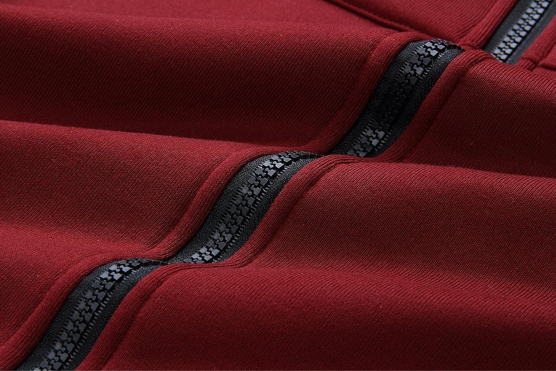 Elonglin Womens Long Sleeves Hoodies Cardigan Zip up Jacket Warm Sweatshirts Loose Hooded Long Coat Oversized Outerwear Jumper