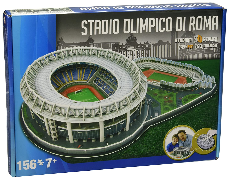 Top Giochi Preziosi - Nanostad Puzzle 3D, Stadio Olimpico Lazio  RO02