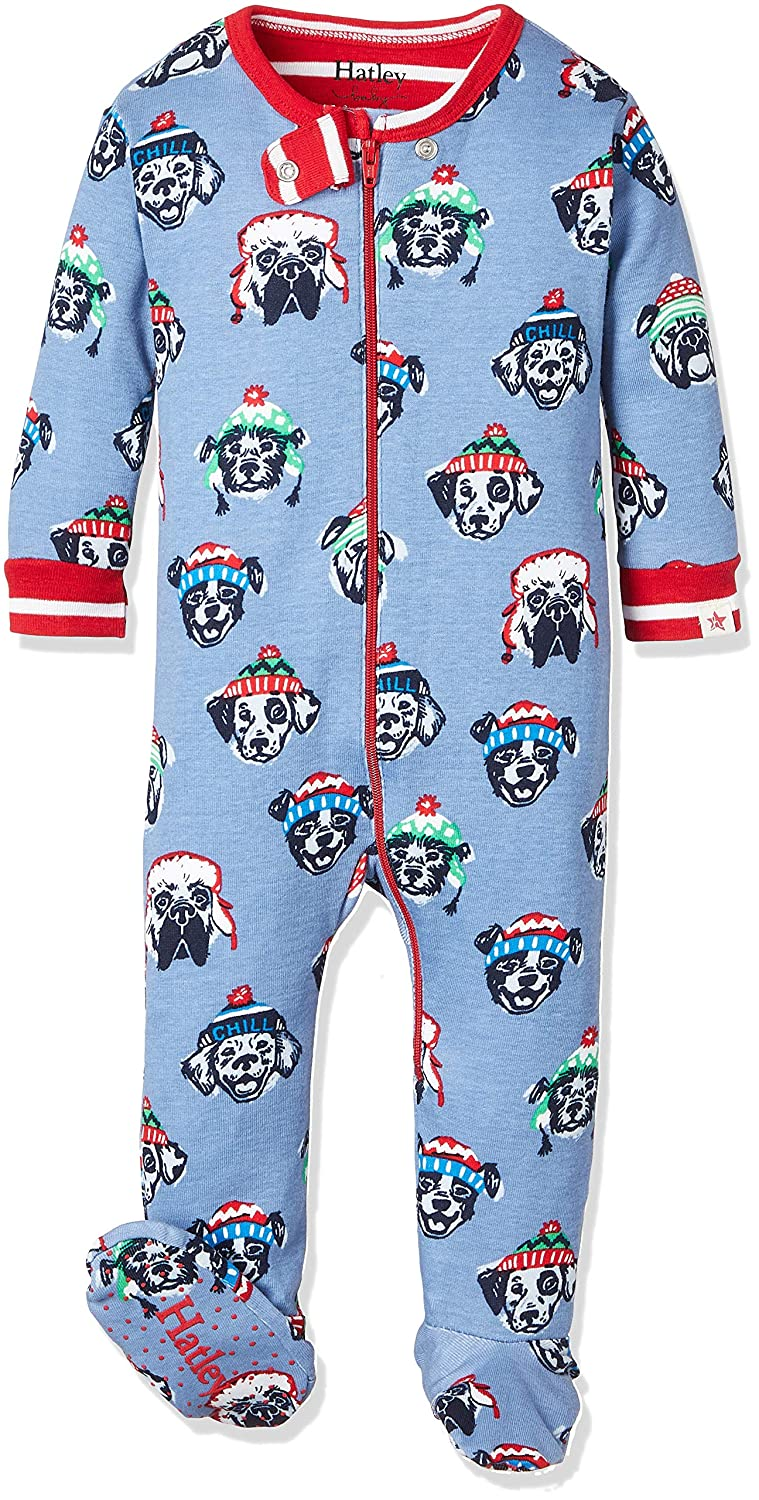 Cozy Pups Hatley Baby Organic Cotton Footed Coverall