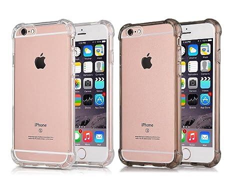 CaseHQ - Carcasa para iPhone 6S Plus, transparente, con ...