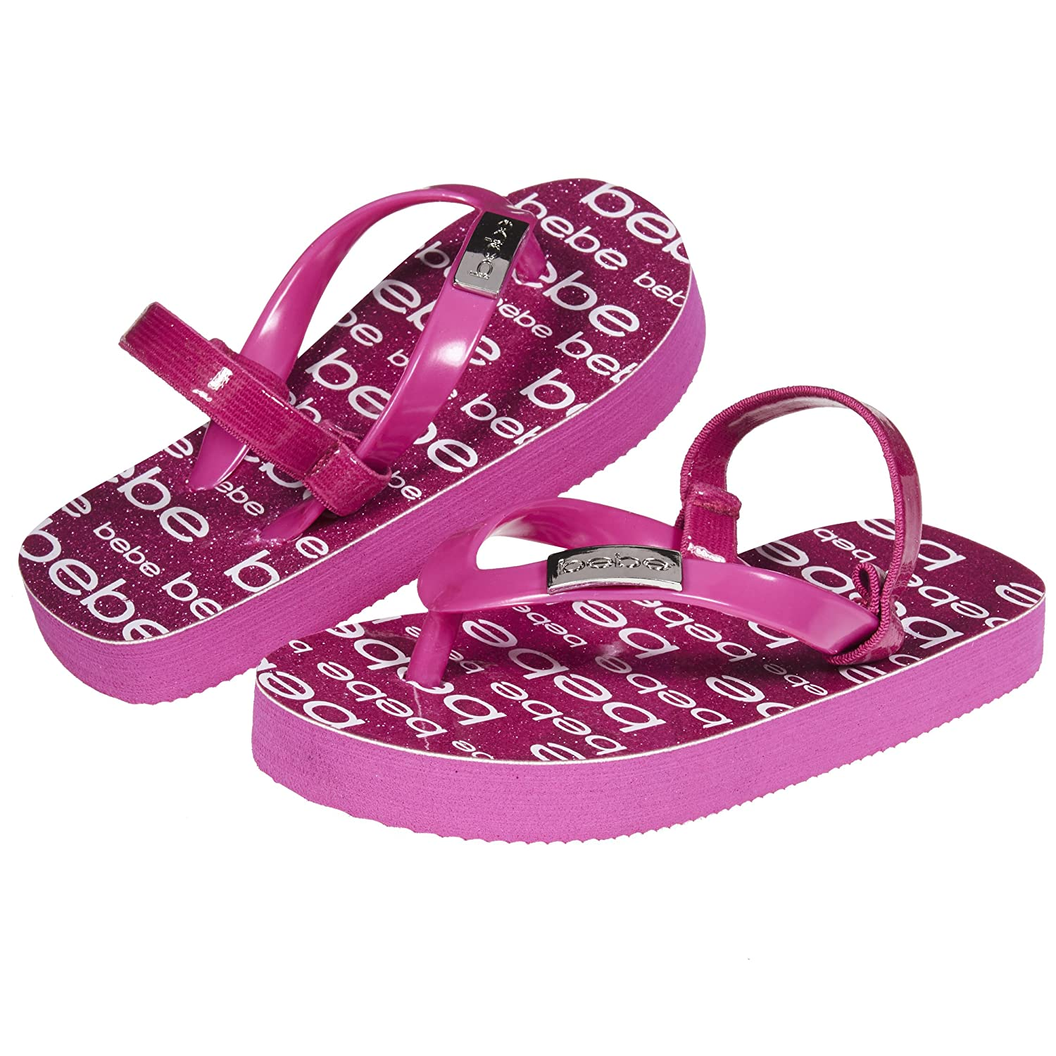 95a527f15d50 FLIP FLOPS FOR TODDLER GIRLS - Flip flops are just what a little girl needs  to complete her warm weather look. A delightful glitter footbed and  pearlized ...