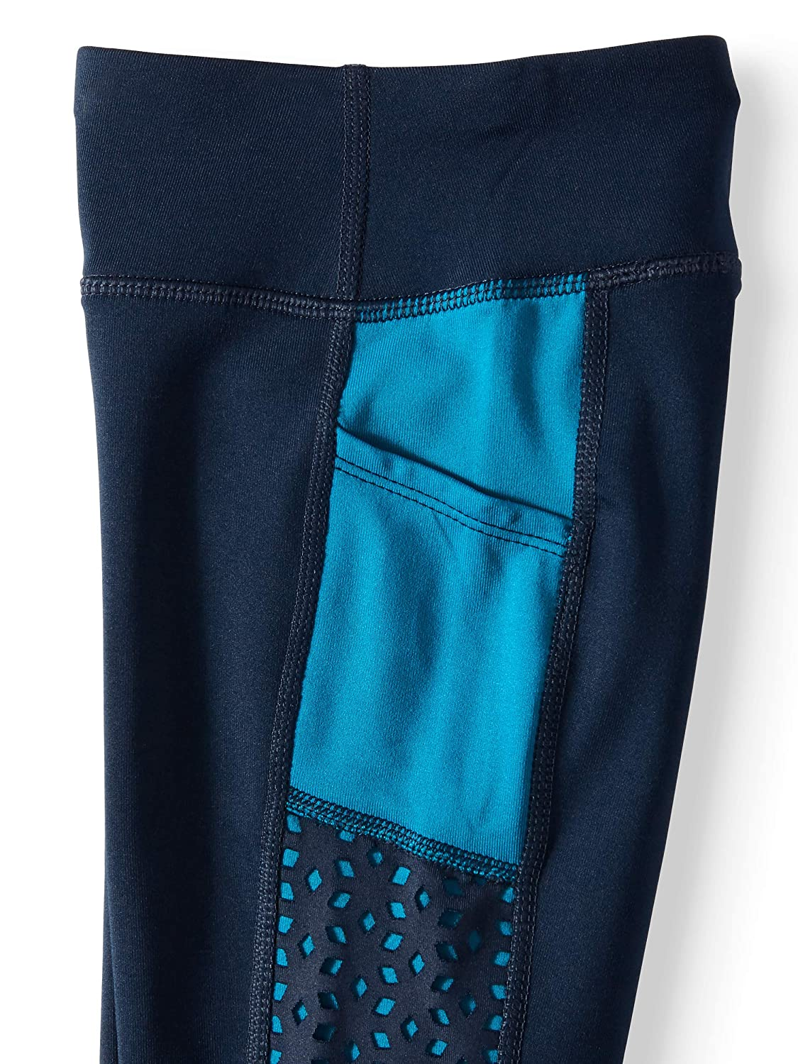 Avia Girls Performance Moisture-Wicking Leggings Blue Cove, X-Large XL, 14-16