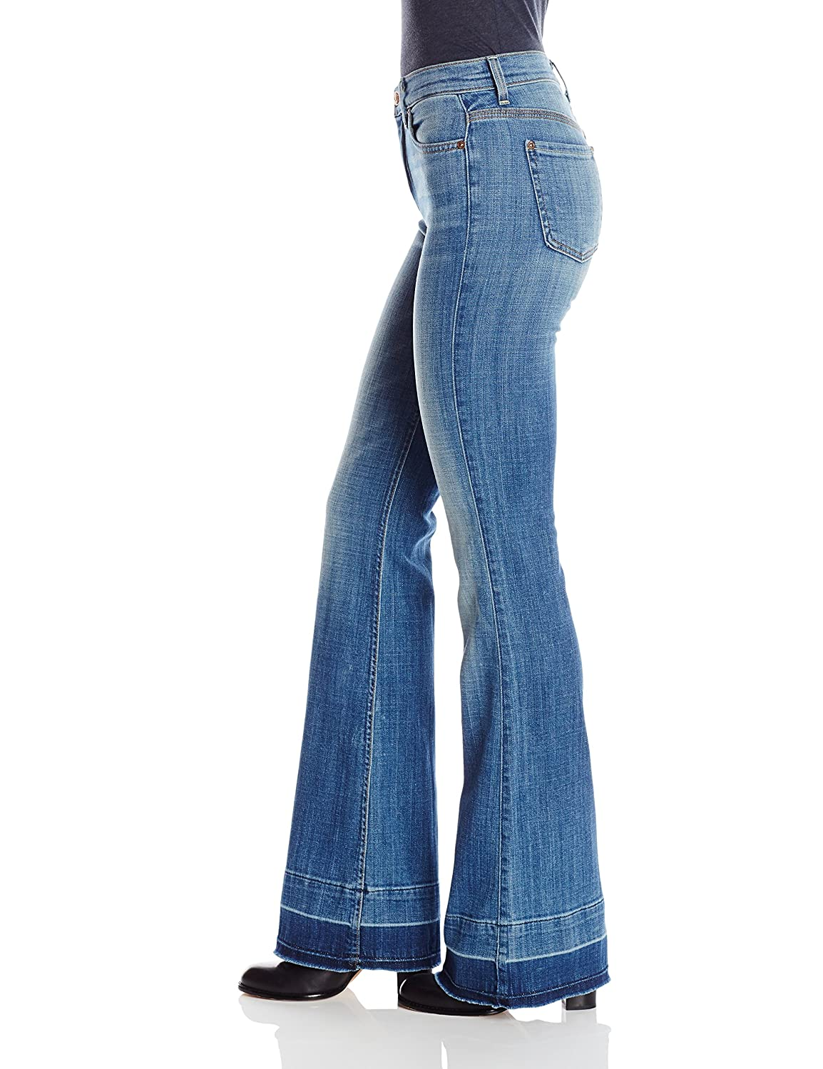 7 For All Mankind Women's Ginger Jean with Released Hem