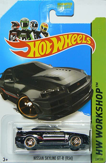Amazon Com Hot Wheels Then And Now 2014 Hw Workshop Black Nissan