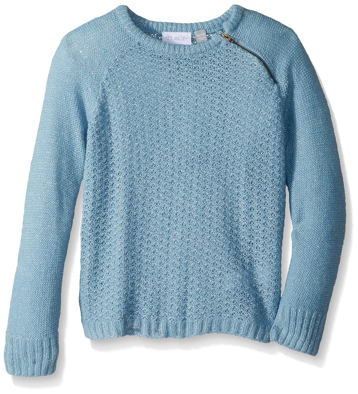 The Children's Place Girls' Zipper Fashion Sweater