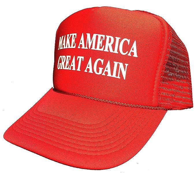 3d6dda3849b Amazon.com  Oliasports Generic Make America Great Again Trump 2016  Unisex-Adult Adjustable Hat Red