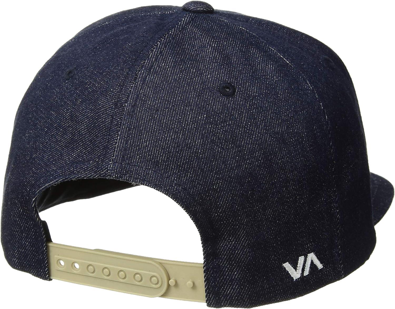 RVCA Mens Twill Snapback Six-Panel Trucker Hat