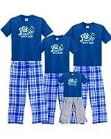 Family Movie Night Matching Family Pajamas & Kids Playwear