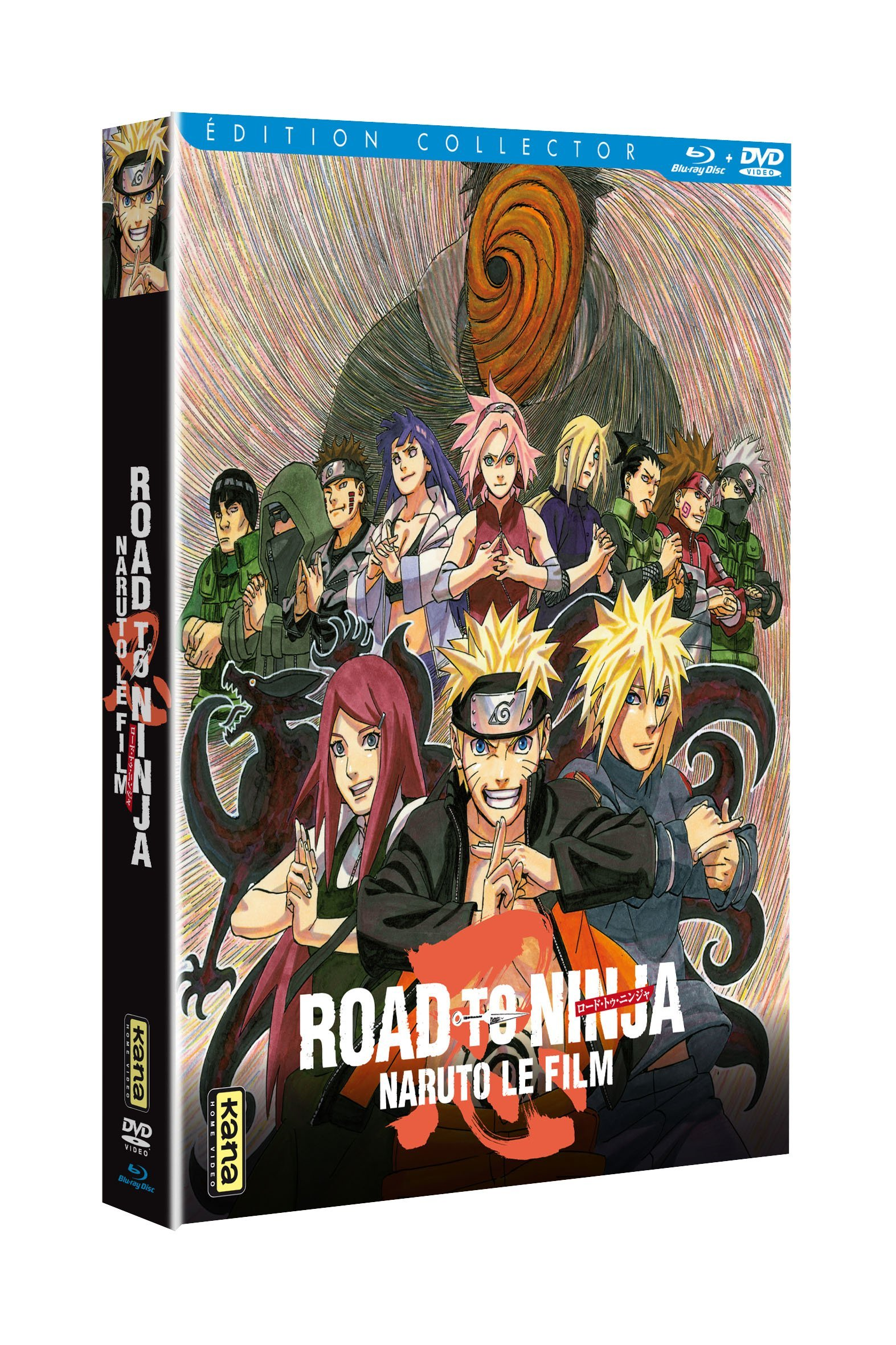 Naruto - Le Film : Road to Ninja [Blu-ray]: 3309450037985 ...