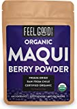 Organic Maqui Powder - 2oz Resealable Bag - 100% Raw From Chile - by Feel Good Organics