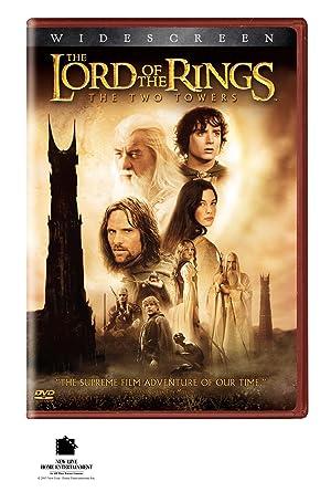 Amazon Com The Lord Of The Rings The Two Towers Widescreen Edition 2002 J R R Tolkien Mark Ordesky Barrie M Osborne Fran Walsh Bob Weinstein Harvey Weinstein Peter Jackson Robert Shaye Michael Lynne Elijah