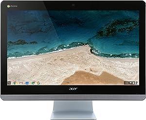 Acer 23.8in Intel Celeron Dual-Core 1.7 GHz 4GB Ram 16GB Flash Chrome OS|CA24I-CN (Renewed)