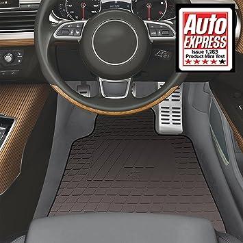 Audi A Hitech Rubber VS Car Mats Tailored Floor Mats Black - Audi a3 04 car mats