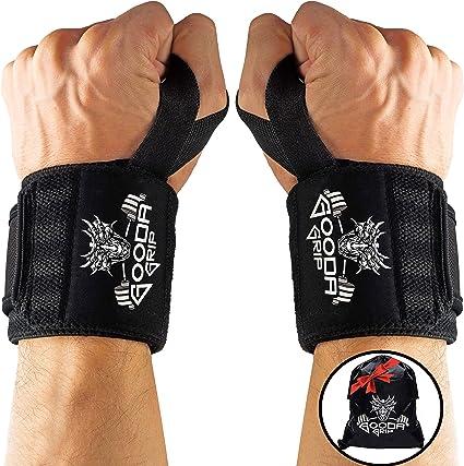 Jungle Weight Lifting Wrist Wraps Workout Training Crossfit Straps gym wod wraps