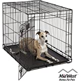 Life Stages LS-1636 Single Door Folding Crate for Intermediate Dogs(41 - 70lbs)
