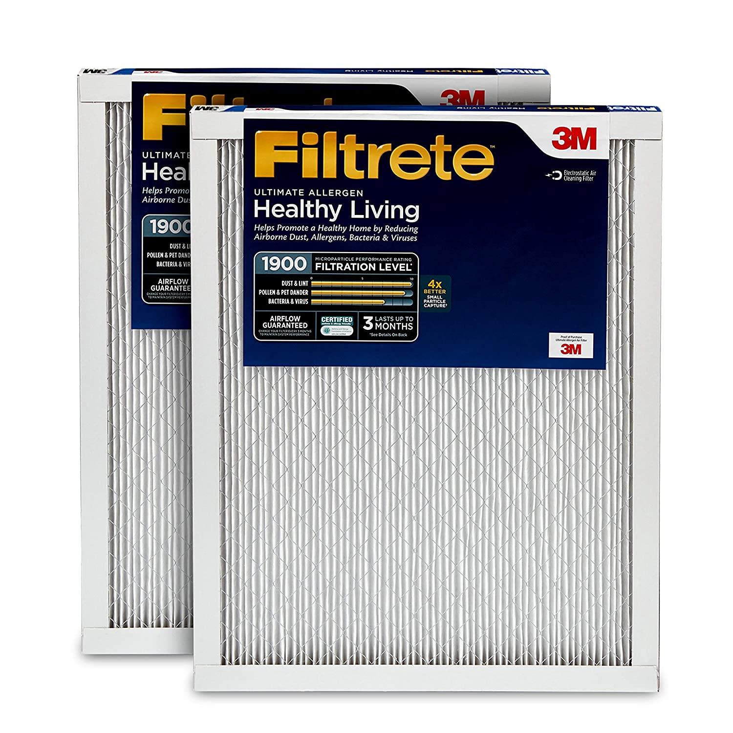 Filtrete 20x25x1, AC Furnace Air Filter,