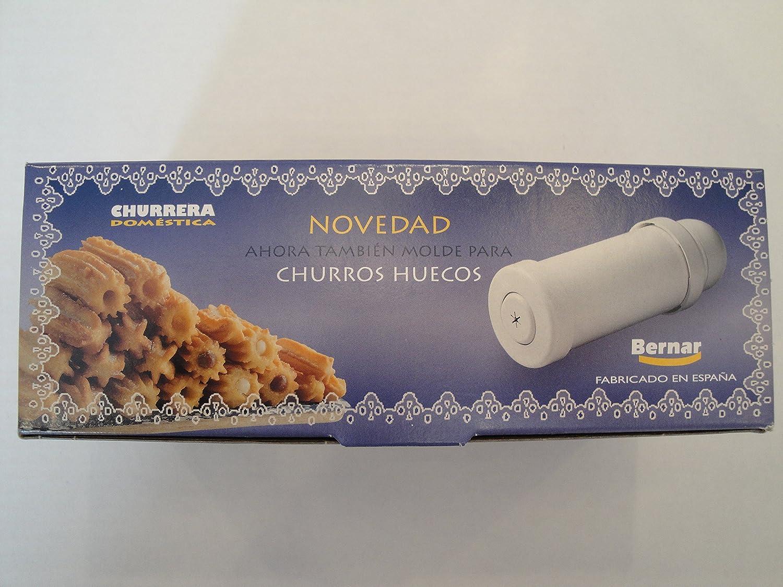 Churrera Churro Maker with Hollow Churro Nozzle. by Bernar: Amazon.es: Hogar