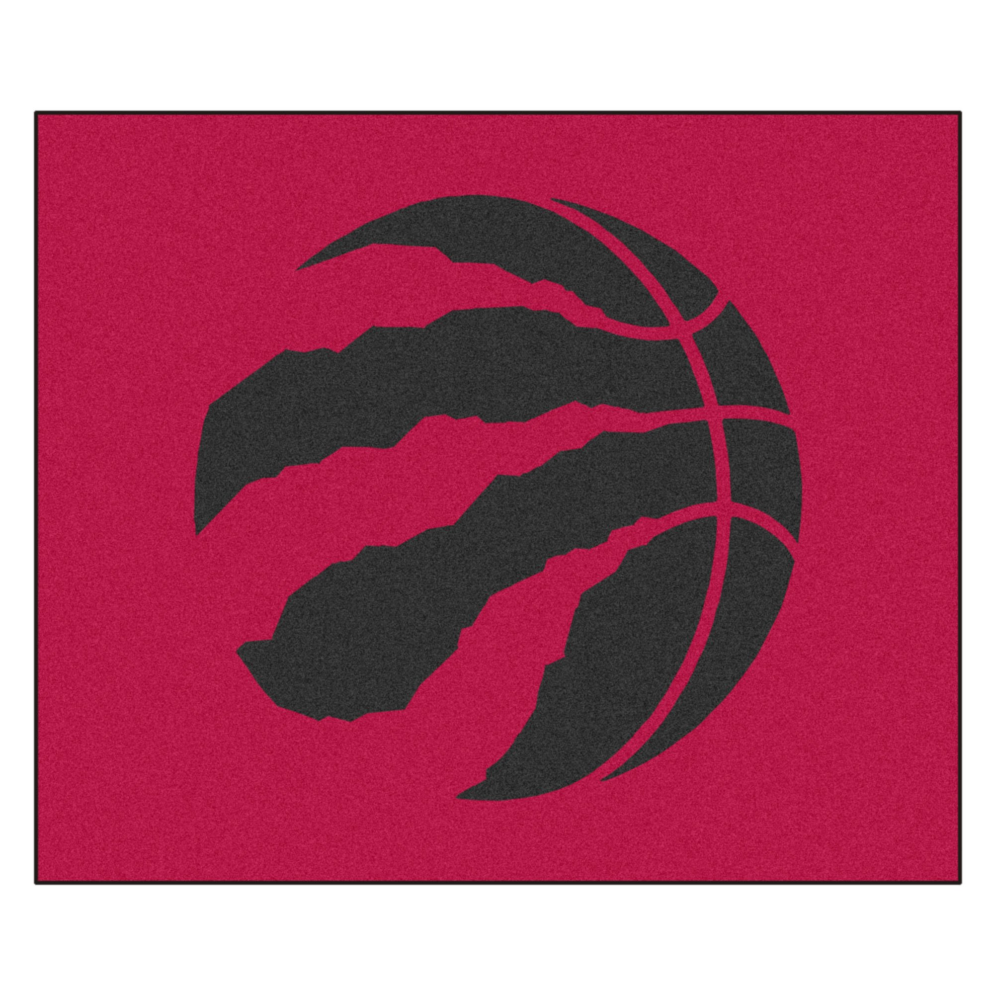 FANMATS 19478 NBA - Toronto Raptors Tailgater Rug , Team Color, 59.5''x71''