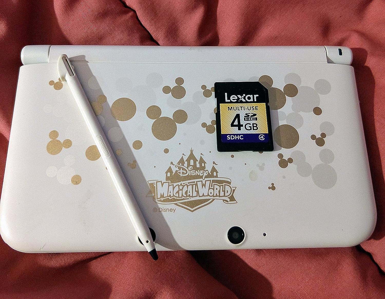 Nintendo 3ds Xl Disney Magical World Special Edition Mickey Edition