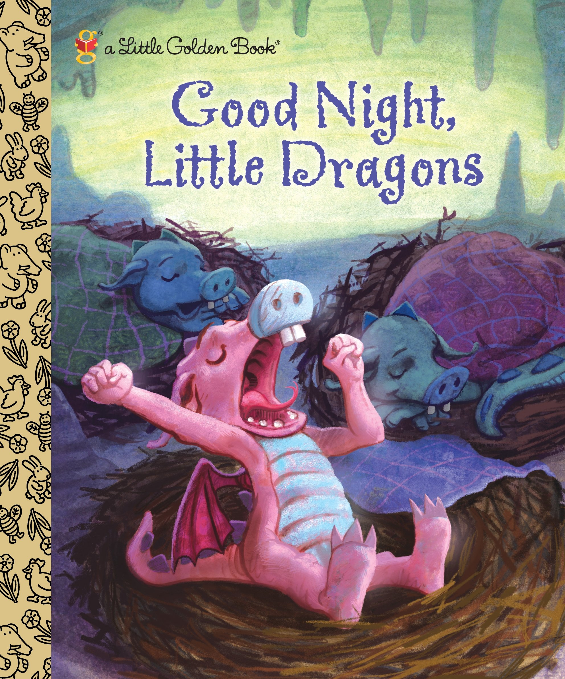 Good Night Little Dragons Golden product image