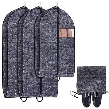 Amazon.com: Onlyeasy - Bolsa de viaje para ropa con ...