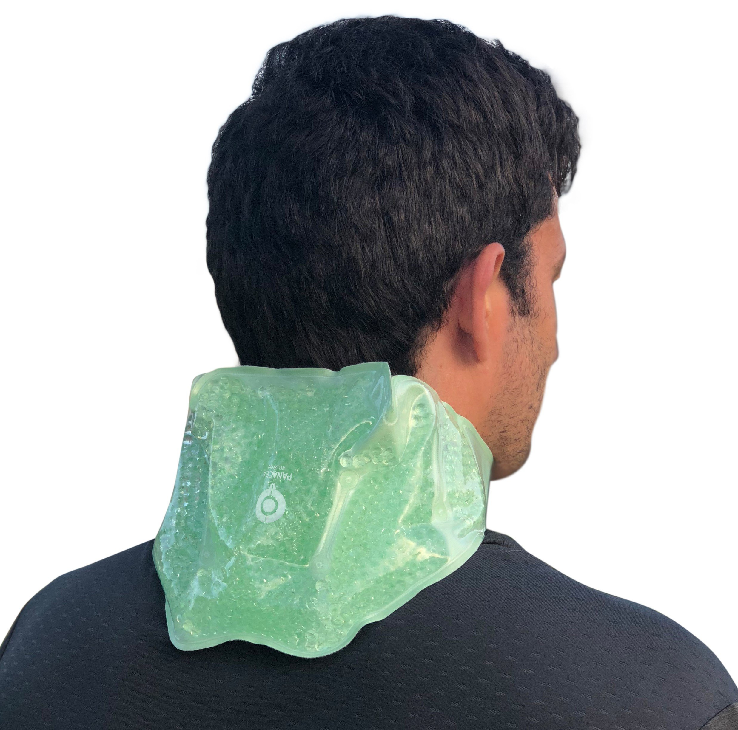 Neck & Shoulder Hot / Cold Therapy Gel Bead Wrap | Microwaveable, Freezable and Reusable | Ideal for Relieving Swelling and Inflamation, Muscle Aches, Stiffness, Arthritis Pain, and Sports Injuries