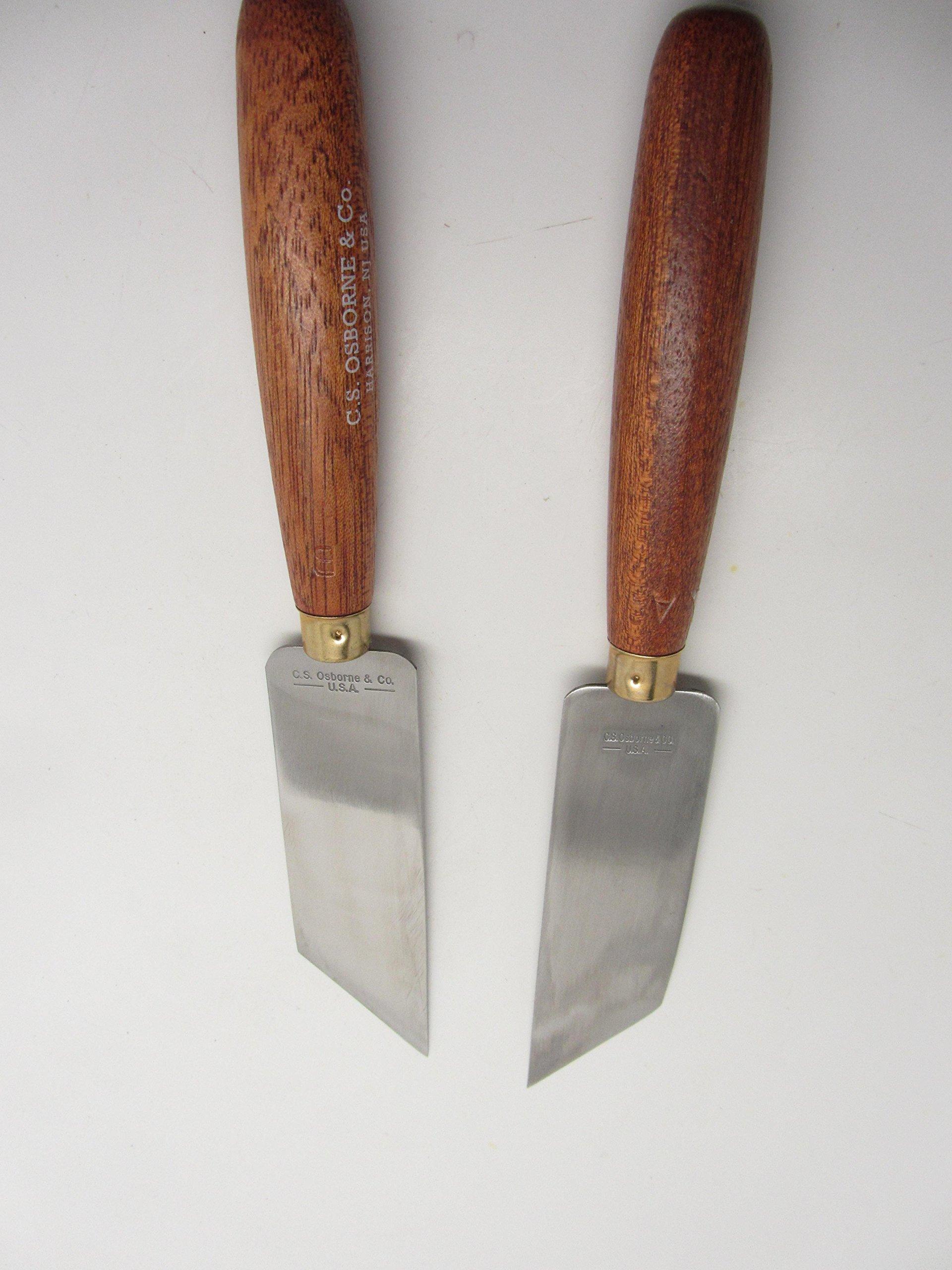 "Osborne Leather Working Craft Tool French Edge Skiving Saddle Tool 3//16/"" 130-3"