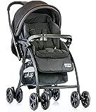 Luvlap Grand Baby Stroller (Black)