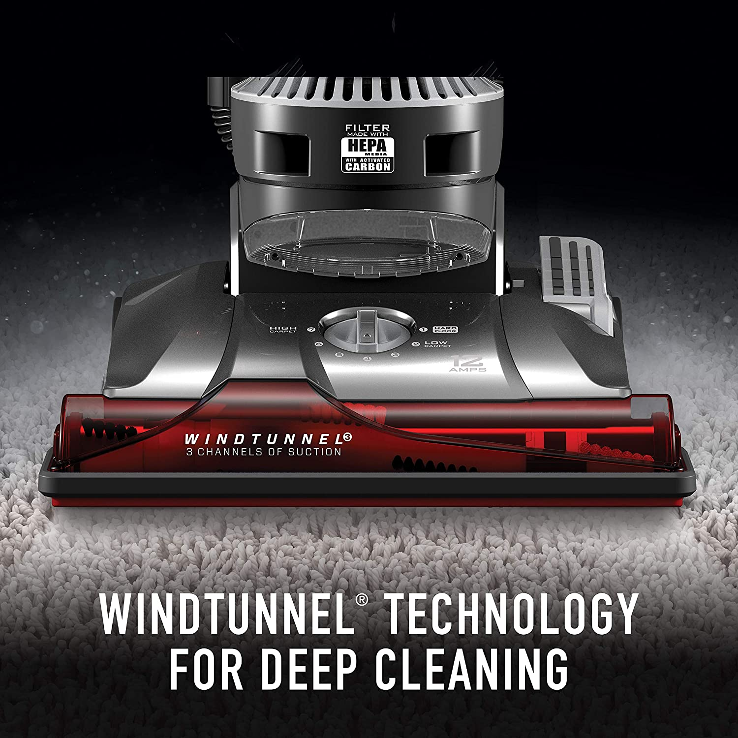 Amazon.com: Hoover WindTunnel - Aspiradora vertical para ...