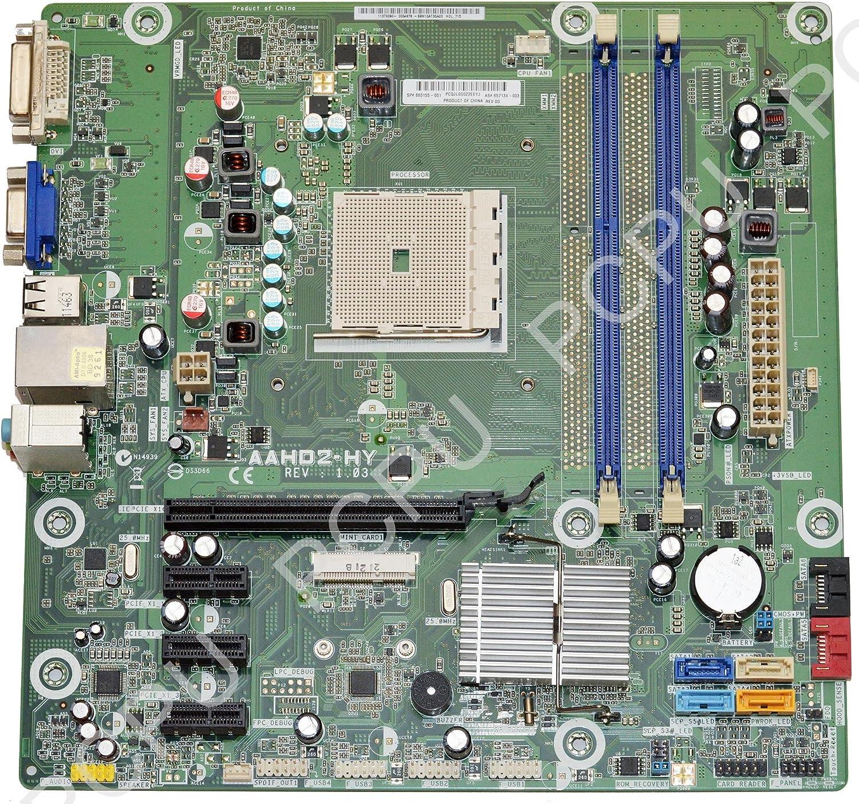 657134-001 HP P6-2000 AMD Desktop Motherboard FM1, 660155-001, 657134-003, Holly, Hudson-D2, AAHD2-HY