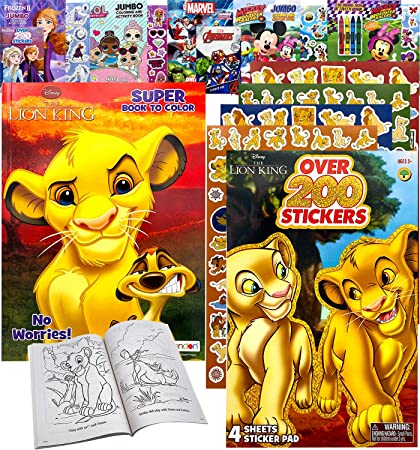 25 Disney Lion King Live Action Stickers Party Favor Teacher Supply Simba