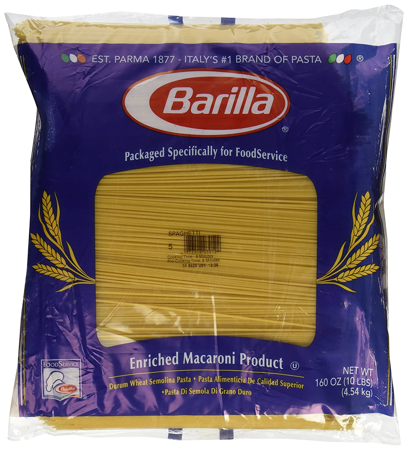 com barilla pasta pipette ounce pack of  com barilla pasta pipette 16 ounce pack of 12 italian pasta grocery gourmet food