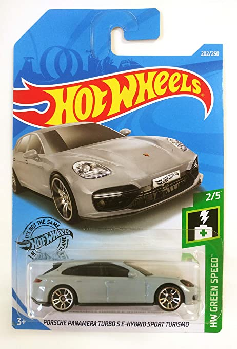 Hot Wheels 2019 Porsche Panamera Turbo S E-Hybrid Sport HW Green Speed 2//5