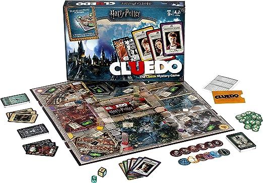 Harry Potter - Cluedo, juego de mesa de misterio (Idioma Inglés ...