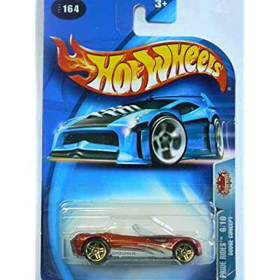 Hot Wheels 2003 Pride Rides Dodge Concept #164 on Card Variation: Toys & Games