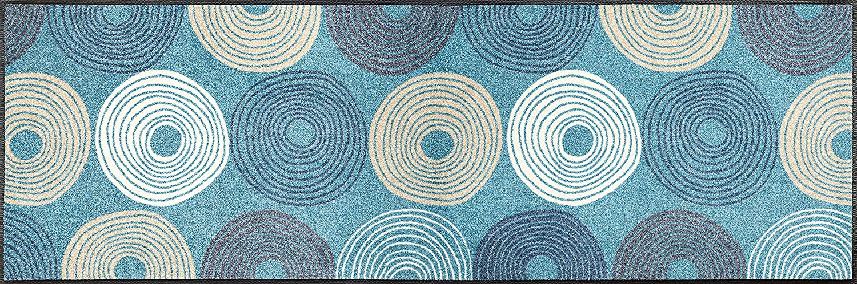 Wash+dry Cyclone Fußmatte, Acryl, bunt, 60x180x0.7 cm