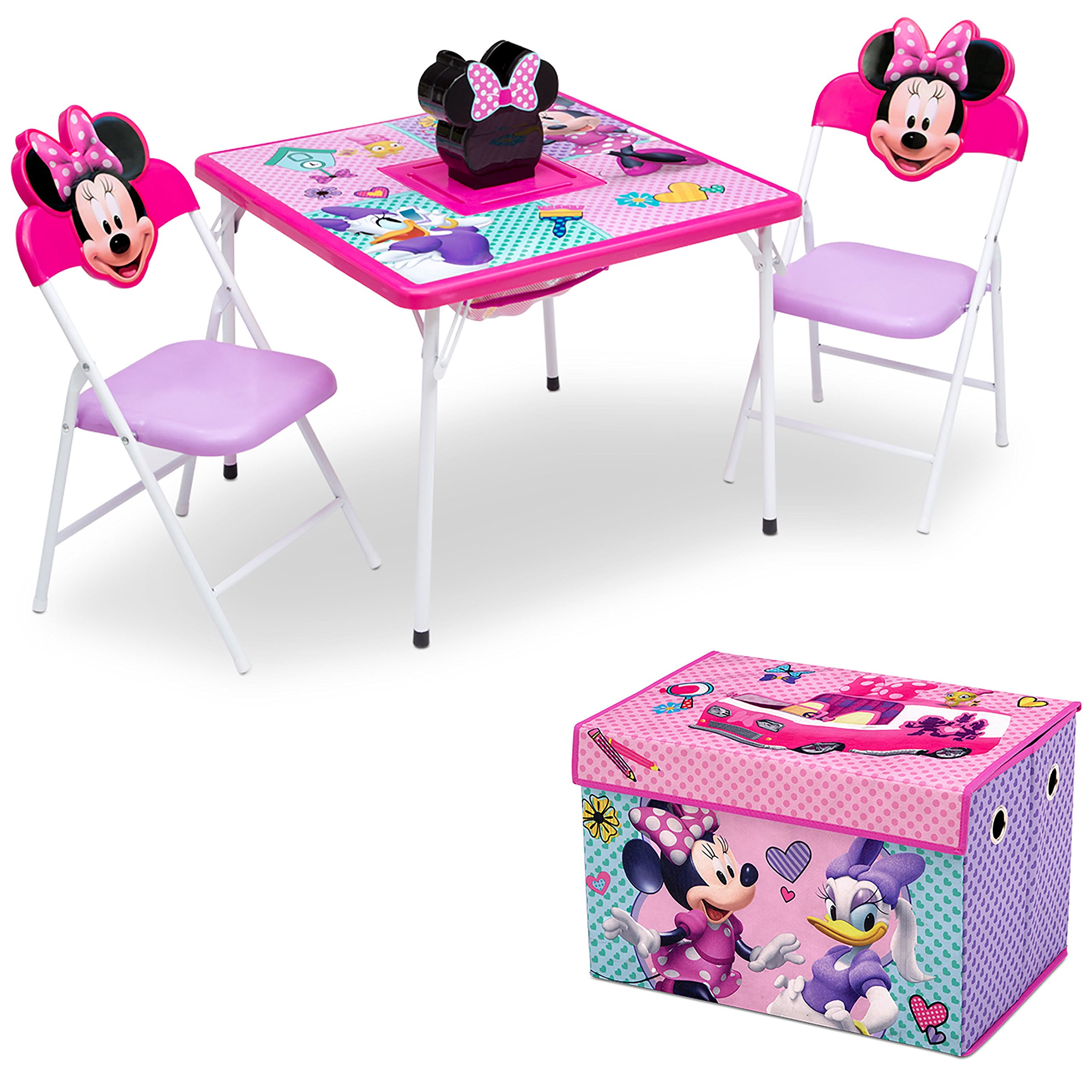 Amazon.com: Delta Children\'s Products Minnie Mouse Upholstered ...