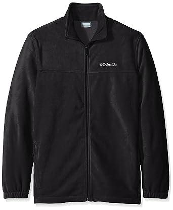 947fc173e73 Columbia Men's Size Steens Mountain Full Zip 2.0 Soft Fleece Jacket, Black,  Tall/