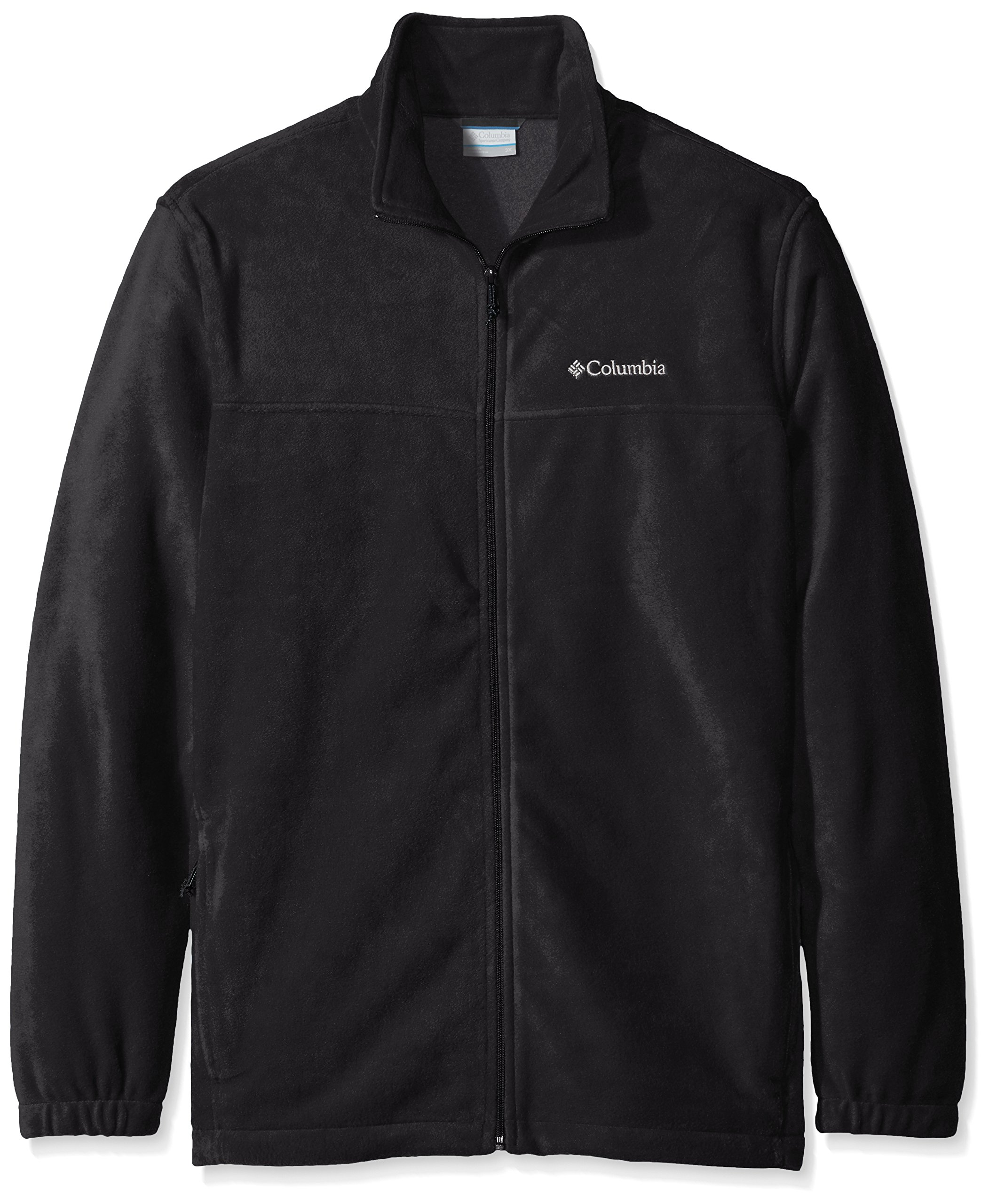 Columbia Men's Big Steens Mountain Full Zip 2.0 Fleece Jacket, Black, 3X by Columbia