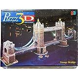 Puzz 3D Tower Bridge Londres ( 819 pièces ) Puzzle 1060mm Long évalué Extra Contestant