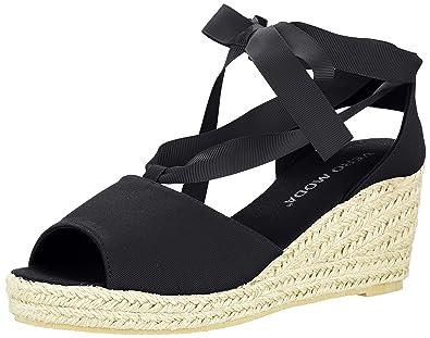 76865900e3b Vero Moda Women s VMSALLY Wedge Sandal Sling Back Black