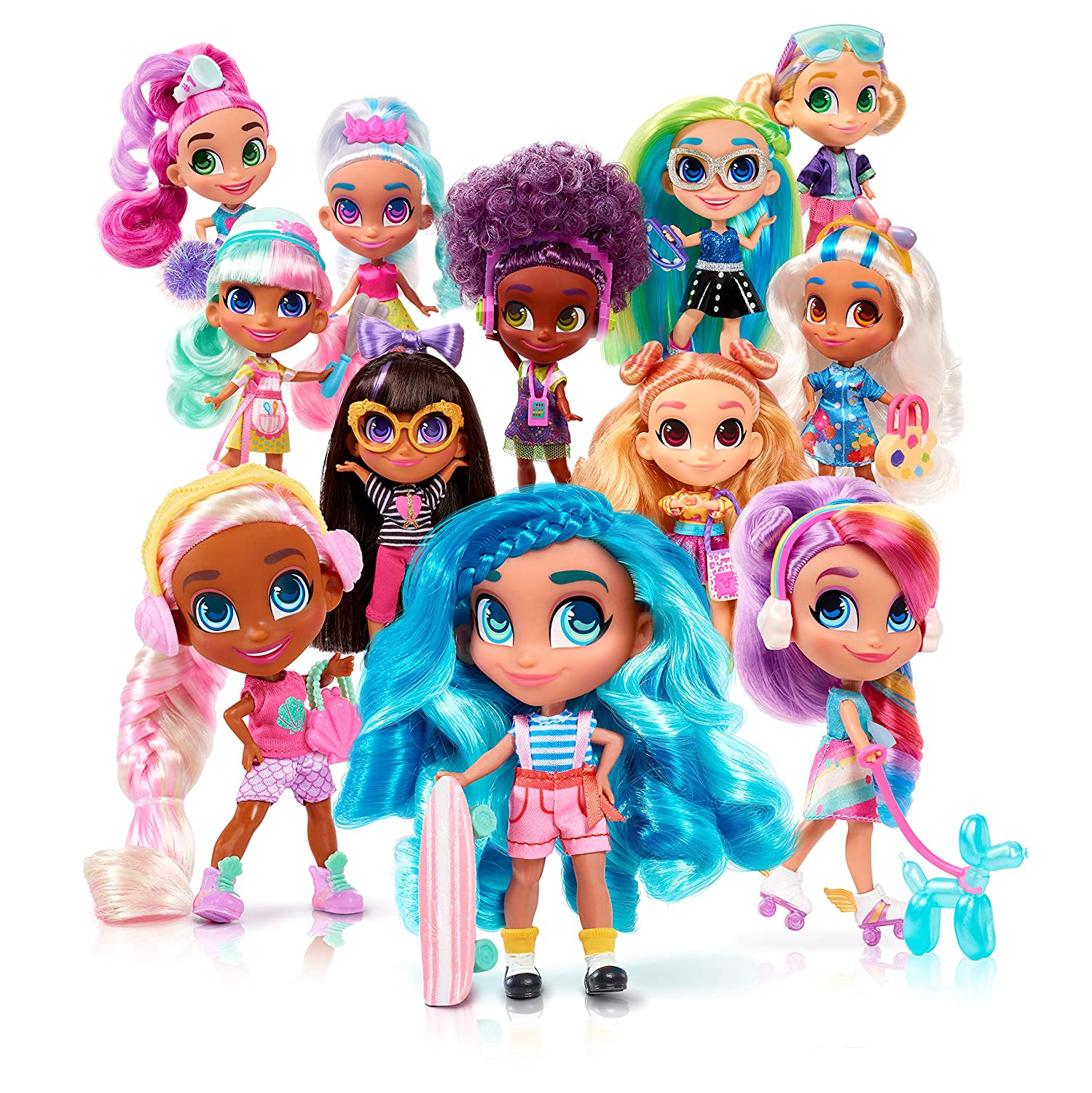 Series 1 Hairdorables ‐ Collectible Surprise Dolls and Accessories Just Play 23600//23690 Styles May Vary