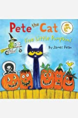 Pete the Cat: Five Little Pumpkins Kindle Edition