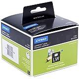 Etiquettes Multi-usage DymoLW, 57mm x 32mm (Rouleau de 1000Etiquettes), Impression en Noir sur Fond Blanc, Auto-adhésives (S0722540)