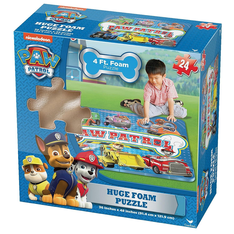 PAW PATROL 6028788 Riesiges Espuma de Suelo de Puzzle, diseño ...