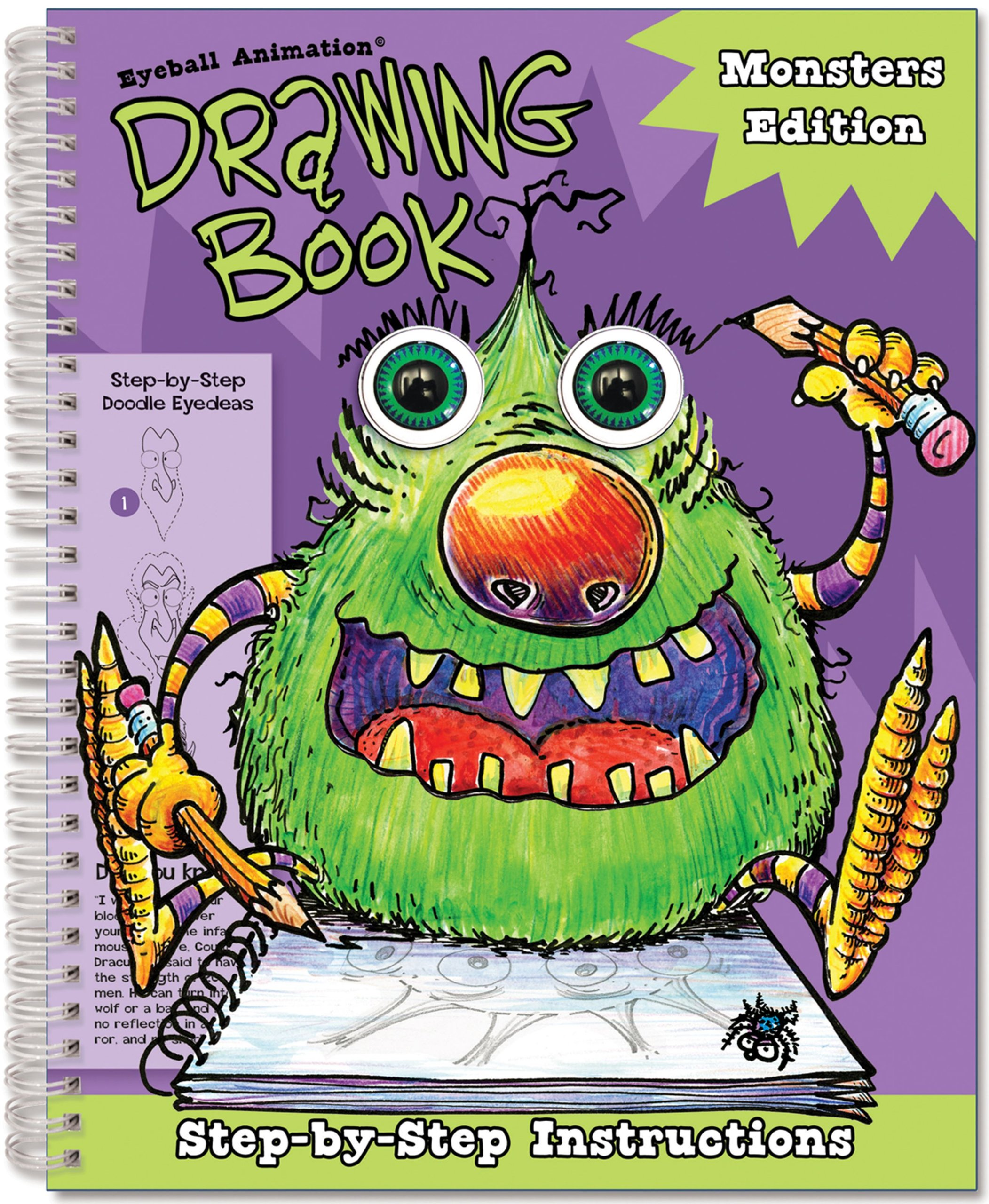 Eyeball Animation Drawing Book: Monsters Edition (Eyeball Animation Drawing Books) PDF